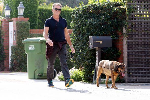 Brosnan interpretó al increíble Agente 007 en cuatro pel&i...