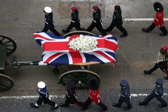 Cabe señalar que los restos de Margaret Thatcher serán incinerados y las...