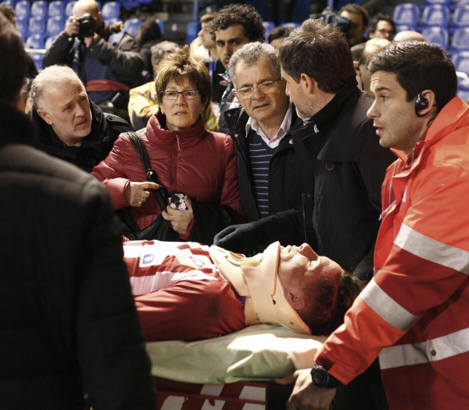 Fernando Torres noqueado