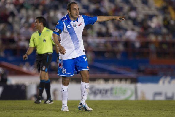 Cuauhtémoc Blanco, el delantero mexicano se caracteriza por mostr...