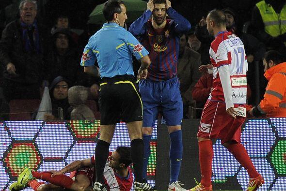 Aparecieron los errores defensivos en el equipo de Guardiola.