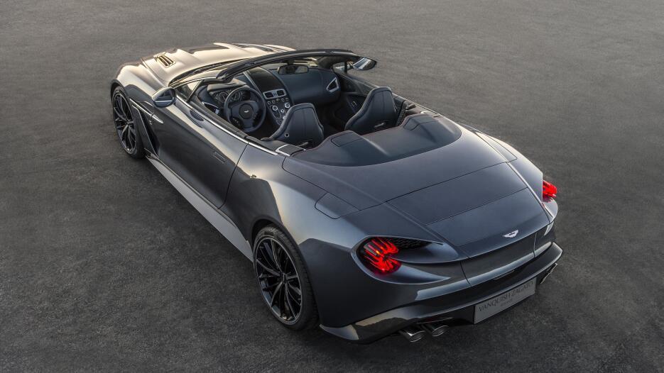 Conoce los nuevos Aston Martin Vanquish Zagato Volante y Speedster hss-s...