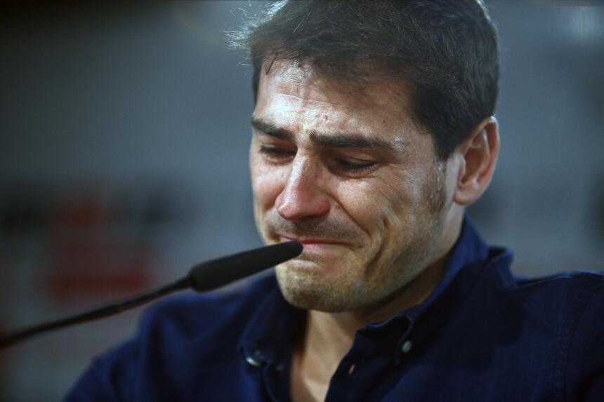 Luego de prácticamente toda una vida de la mano, el Madrid y Casillas em...