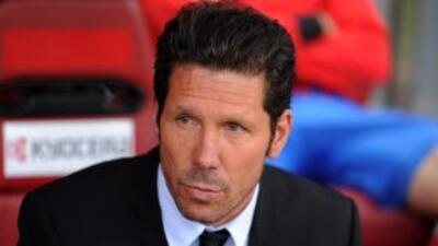 El 'Cholo', entrenador del Atlético, acepta que un jugador como Suárez s...