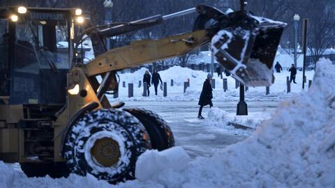 Se registran 47 muertos por la nevada en la Costa Este