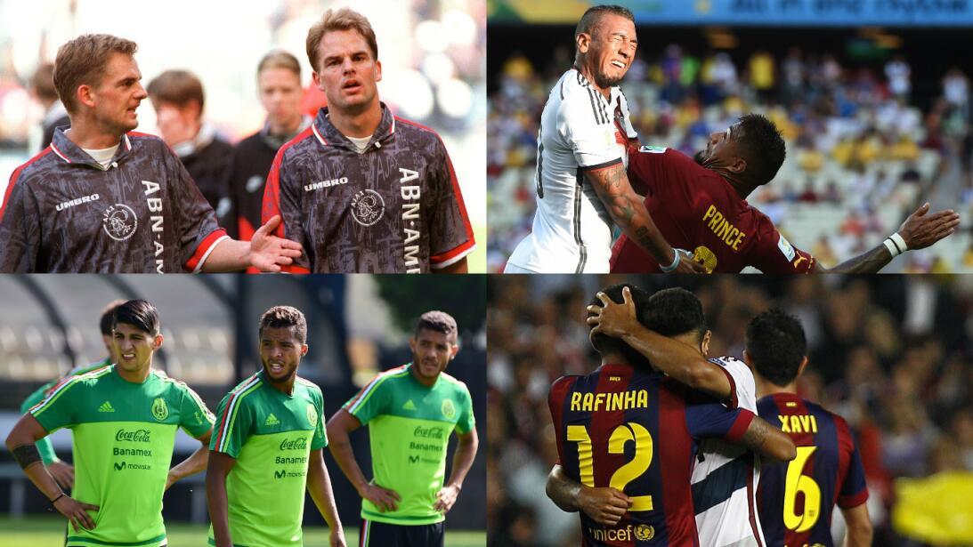 Hermanos futbolistas en el fútbol mundial Getty-primera.jpg