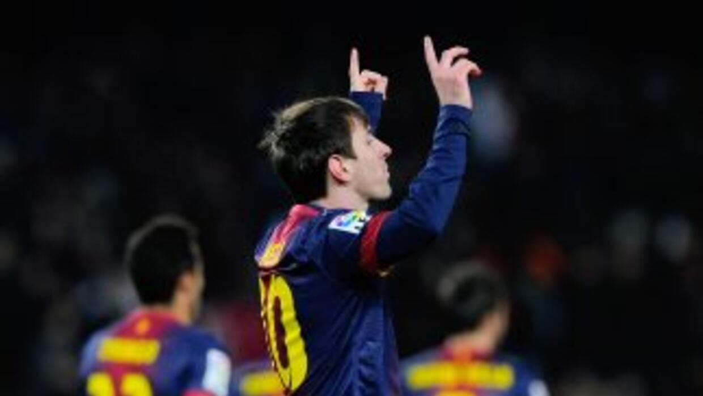 Luego de 15 jornadas seguidas anotando Messi llegó a 38 goles en lo que...