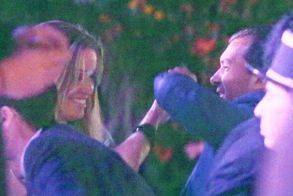 Y Antonio y Angi no dejaron de bailar toda la noche.