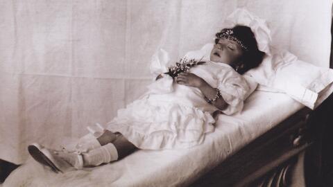 'Niña de Guatemala' (1920). Fotografía de Julio Cordero Ca...