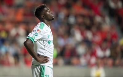 El jugador de Santos cuenta con 10 anotaciones.