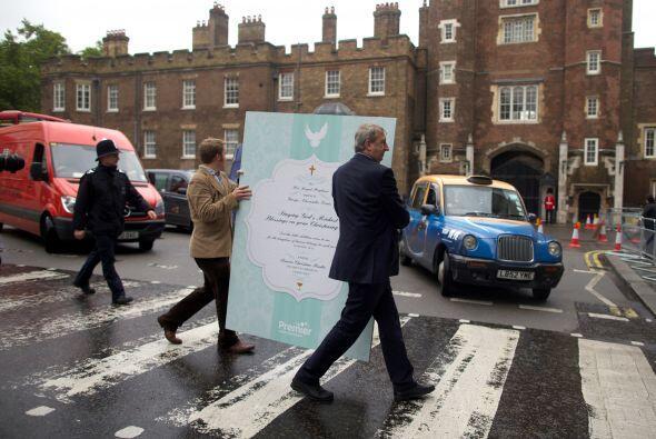 Entre los asistentes al bautizo estarán la reina Isabel II y su marido,...