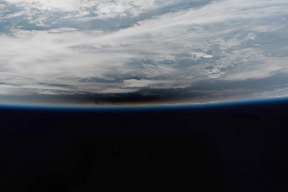 Foto del astronauta iitaliano Paolo Nespoli desde la estación espacial i...