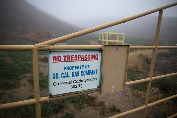 Instalación de SoCalGas en Aliso Canyon