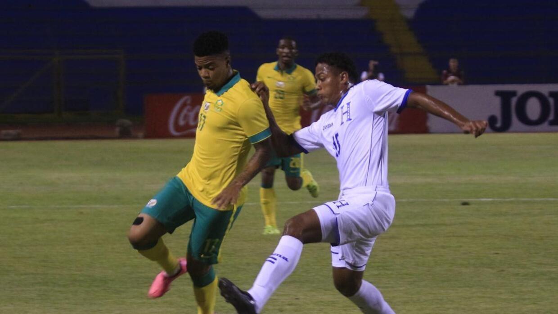 Honduras igualó 1-1 con Sudáfrica