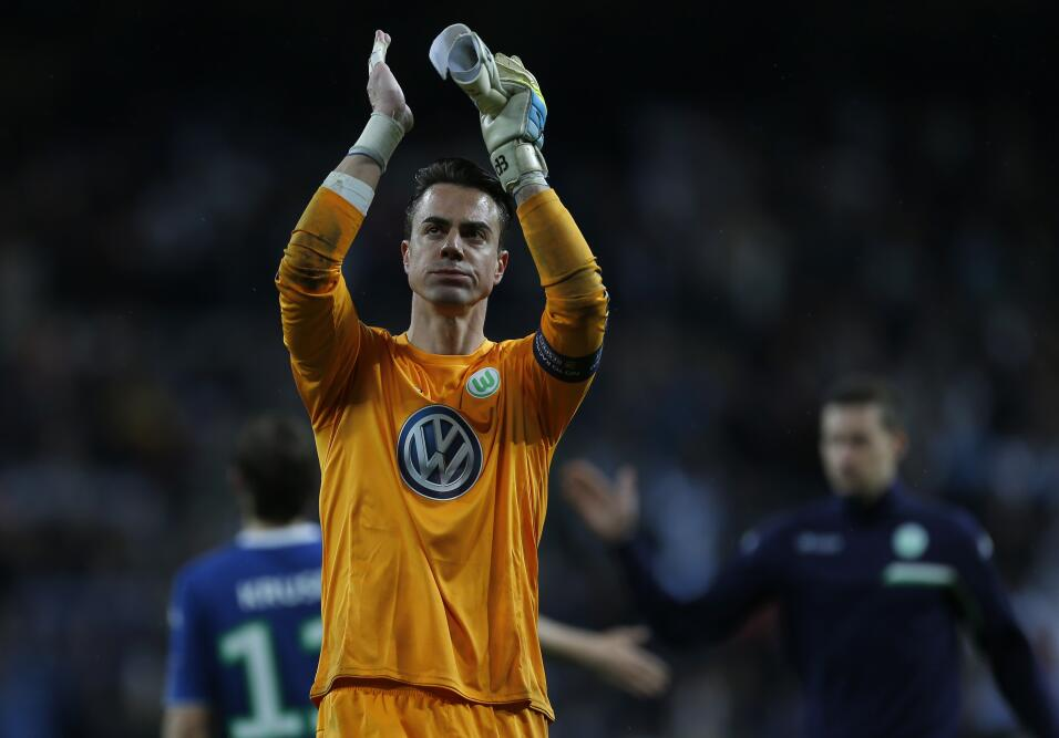 El portero Diego Benaglio, de Wolfsburgo, sería uno de los refuerzos del...