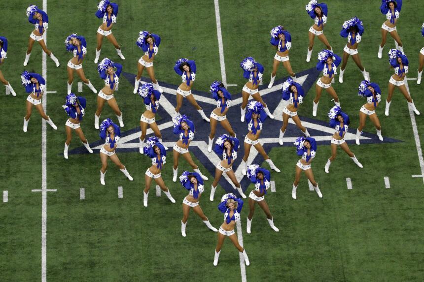 Las porristas de los Dallas Cowboys tuvieron su última participación de...