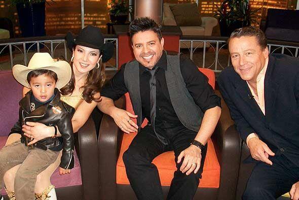 El Don recibió a tres personalidades de éxito: Priscila, L...