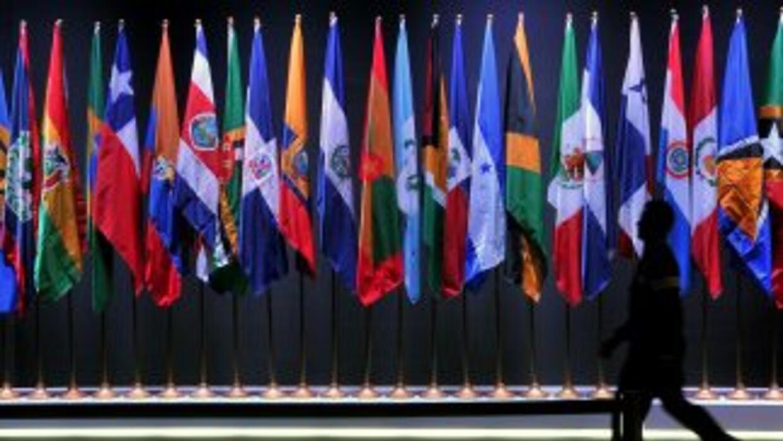 Banderas latinoamericanas.