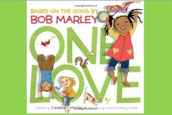 Bellisimo libro ilustrado de la famosa canción de Bob Marley, One Love.