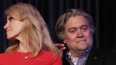In photos: the rise and fall of Steve Bannon