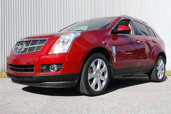 Cadillac rediseño completamente su crossover SRX para el año 2010.