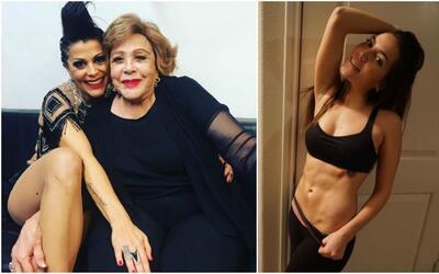 Silvia Pinal, Alejandra Guzmán y Frida Sofía