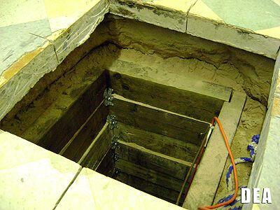 Coleman dijo que los investigadores aún no pueden asegurar si el túnel,...