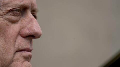 Secretario de defensa James Mattis refuerza la amenaza del presidente Tr...