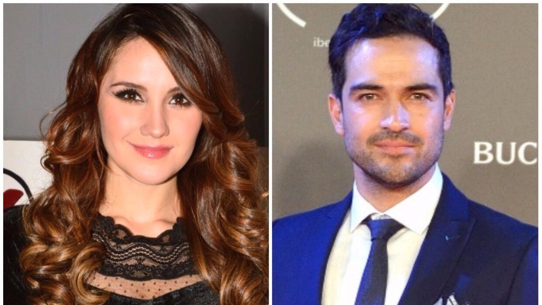 Dulce María y Alfonso Herrera