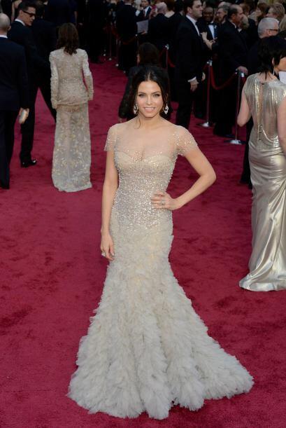 Jenna Dewan-Tatum apostó por las transparencias, las cuales sólo mostrar...