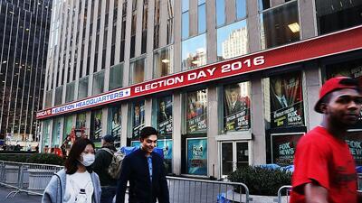 En fotos: Así transcurrió el día de la elección en Nueva York