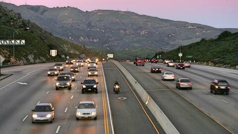 Uno de los accidentes ocurrió en la autopista 118, en el norte de Los Án...
