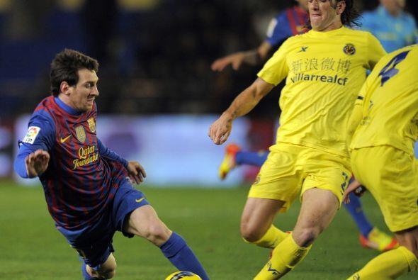 Messi estuvo muy marcado y además se comió dos goles.