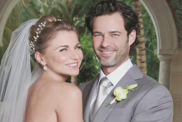 Ludwika Paleta y Emiliano Salinas se casaron el año pasado.
