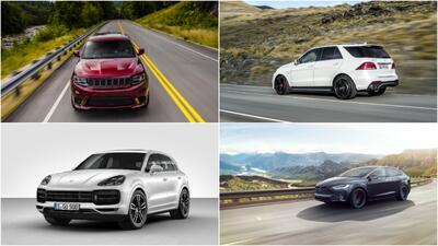 Las SUVs más rápidas de 2018