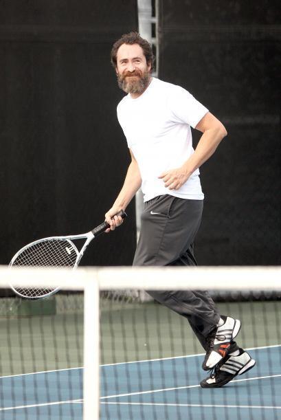 Demián utilizó este deporte para relajarse un momento.