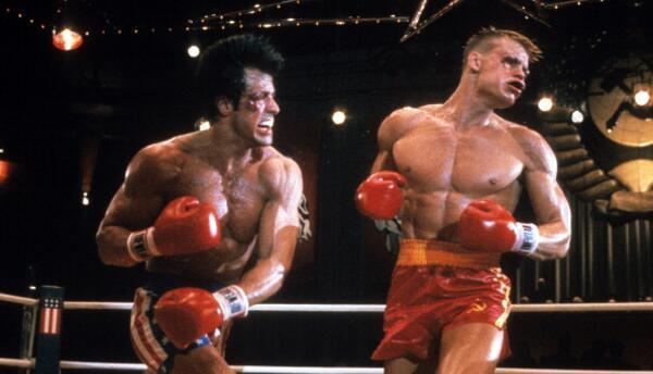 Dolph Lundgren en Rocky IV
