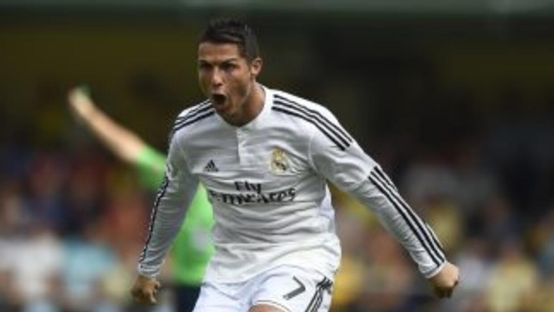 Cristiano Ronaldo hizo su octavo gol en los tres últimos partidos.