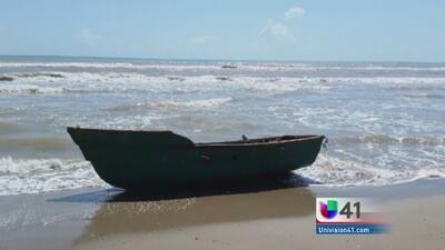 Náufragos cubanos llegan a las costas de Texas