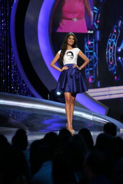 La dominicana Carlina Durán sigue en la competencia aunque no le fue muy...