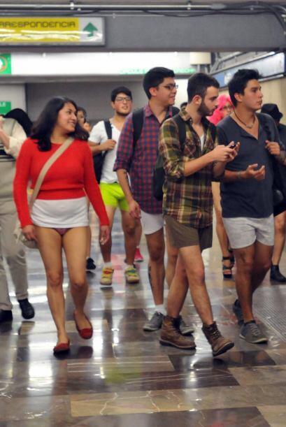 La convocatoria se realizó como parte del Flash Mob México, que año con...