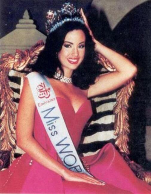 Jacqueline Aguilera Miss World 1995