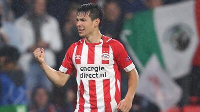 'Chucky' Lozano destaca en el 11 ideal de la Eredivisie en septiembre