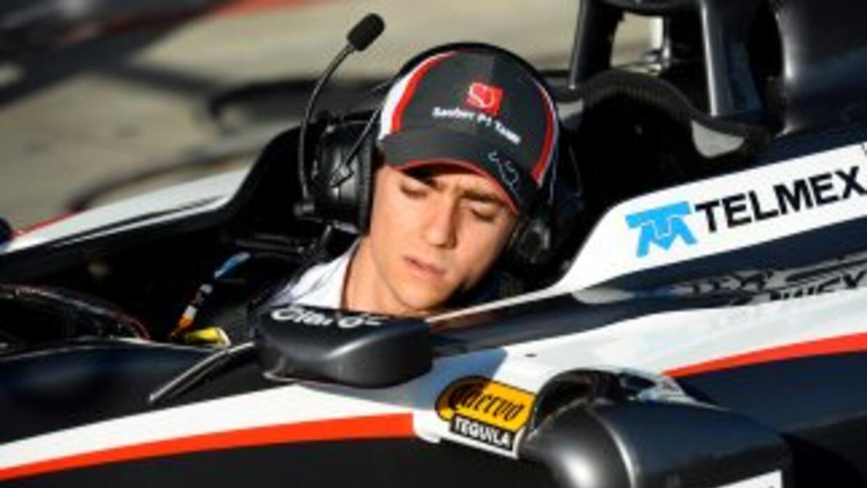 Esteban Gutiérrez debutará en el máximo circuito.