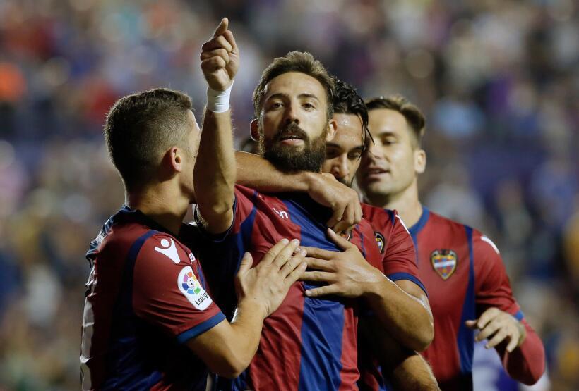 Real Sociedad y Carlos Vela fueron goleados por el Levante 6364163456797...