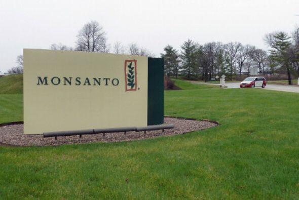 10. MONSANTO. La compañía que se especializa en productos químicos para...