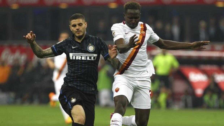 El delantero argentino marcó el gol del triunfo sobre la Roma cerca del...