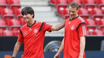 El entrenador alemán Ottmar Hitzfeld desea que sus compatriotas sean rec...