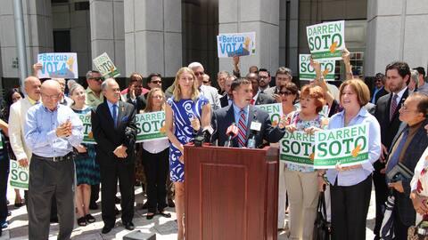 El candidato Darren Soto busca ser el quinto puertorriqueño en la Cámara...
