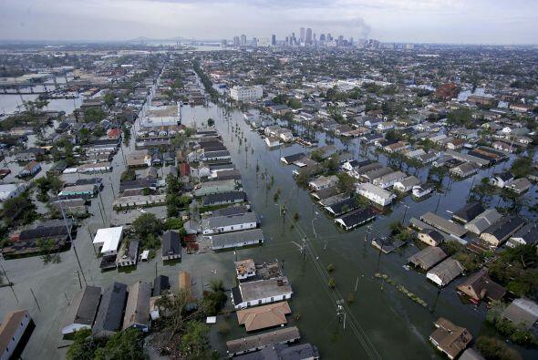 El último fin de semana de agosto de 2005, el huracán Katr...
